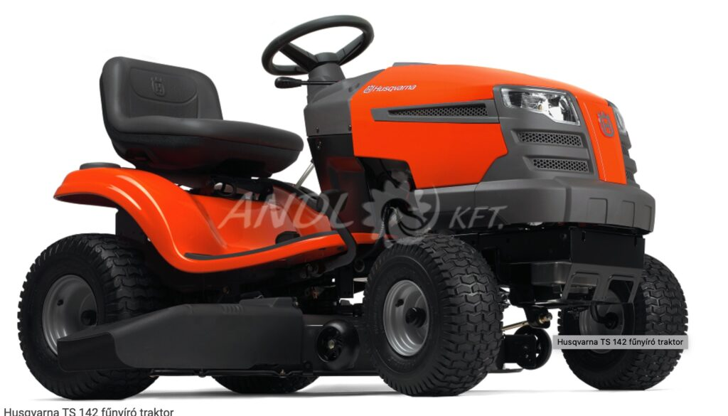 Kerti traktor a nagyobb területek nyírásához